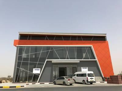 Showroom for Rent in Al Jurf, Ajman - AL JURF INDUSTRIAL 3 NEW SHOWROOM FOR RENT BEHIND CHINA MALL