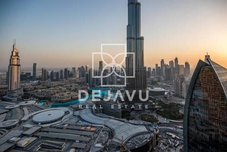 2 Bedroom Flat for Rent in Downtown Dubai, Dubai - Furnished and Serviced Full Burj View and Fountain View