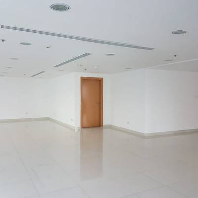 Office for Rent in Jumeirah Lake Towers (JLT), Dubai - Ideal location Closed to Metro STATION fully fitted Office with balcony for rent in JLT only 50psf.
