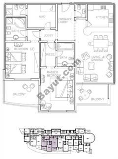 Type 1 2 Bedroom
