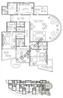Type 1 3 Bedroom