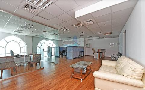 Office for Rent in Jumeirah Lake Towers (JLT), Dubai - Fully Fitted Office Rent Dome Tower  JLT