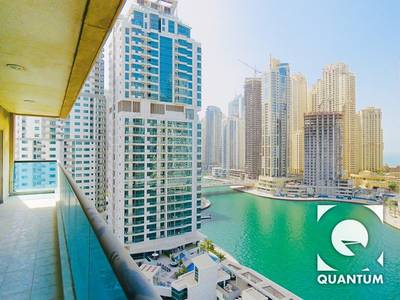 2 Bedroom Flat for Rent in Dubai Marina, Dubai - Upgraded Kitchen | Marina View |  Vacant