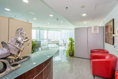 Fitted open plan office for sale in JLT