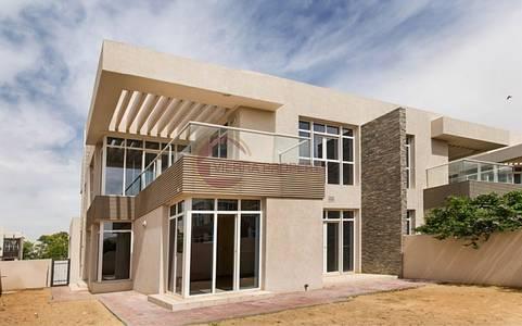 4 Bedroom Villa for Sale in Dubai Silicon Oasis, Dubai - Corner|Modern |Facing Pool I Huge Garden