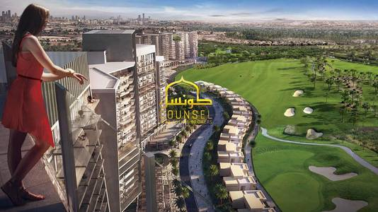 1 Bedroom Flat for Sale in DAMAC Hills (Akoya by DAMAC), Dubai - 1BR unit for sale in Radisson Hotel in Damac Hills