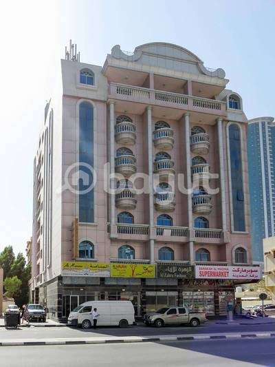 2 Bedroom Apartment for Rent in Al Rumaila, Ajman - Two bed room And Hall for Rent In Al rumaila - Ajman - Local Building