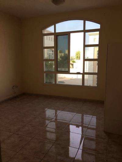Studio for Rent in Between Two Bridges (Bain Al Jessrain), Abu Dhabi - Studio flat inside compound parking free with legal tawteeq no commission