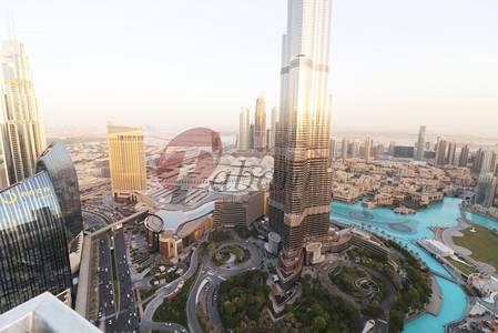 3 Bedroom Flat for Rent in Downtown Dubai, Dubai - Full Burj khalifa and Fountain view 3 Bed