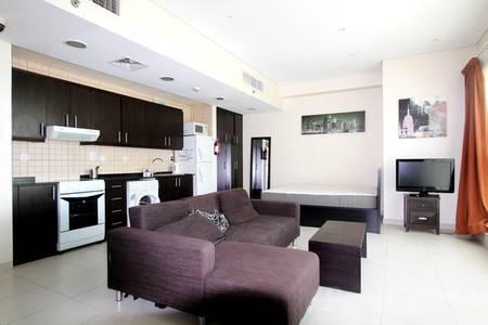 Studio for Rent in Dubai Marina, Dubai - Sea View | Chiller Free