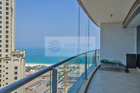 2 Bedroom Apartment for Sale in Dubai Marina, Dubai - TGR Largest 2BR | P/Sea and Marina Views