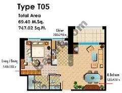Type T05 1 Bedroom