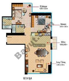 Type T09 2 Bedroom