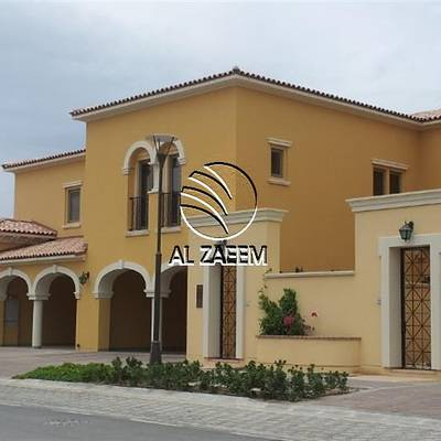3 Bedroom Townhouse for Rent in Saadiyat Island, Abu Dhabi - Luxurious 3BR Townhouse with Maids room in Saadiyat Beach