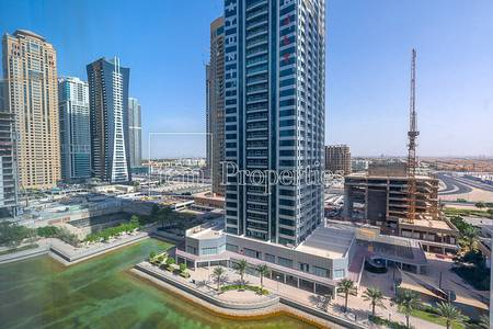 1 Bedroom Apartment for Rent in Jumeirah Lake Towers (JLT), Dubai - Vacant | Corner 1BR Unit with Lake Views