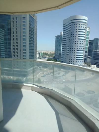 3 Bedroom Apartment for Rent in Danet Abu Dhabi, Abu Dhabi - For rent apartment 3 bedrooms  hall  working room house  swimming pool and health club