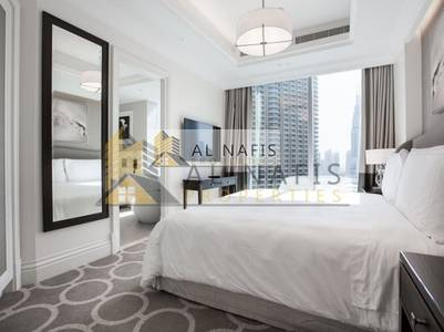 1 Bedroom Hotel Apartment for Rent in Downtown Dubai, Dubai - Amazing  1BHK  Fully furnished in Address Blvd down town