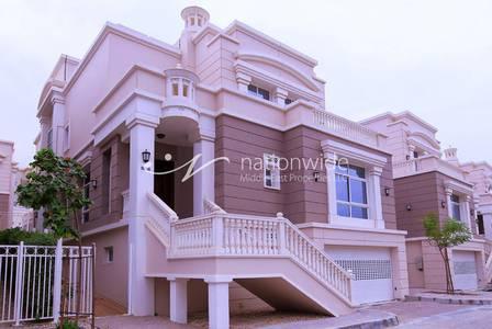 5 Bedroom Villa for Rent in Al Forsan Village, Abu Dhabi - Stylish and Practical 5 BR Villa w/ Pool