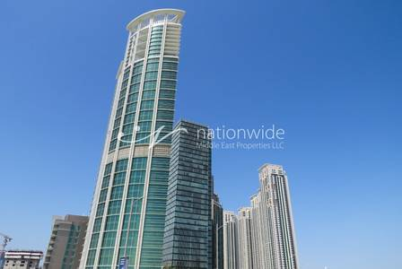 2 Bedroom Apartment for Sale in Al Reem Island, Abu Dhabi - Significant 2 BR Apt in a Prime Location