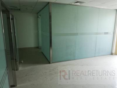 Office for Rent in Jumeirah Lake Towers (JLT), Dubai - 6 Glass partitions office  with a balcony [EC]