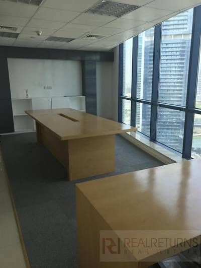 Office for Rent in Jumeirah Lake Towers (JLT), Dubai - X2 Tower: High Floor
