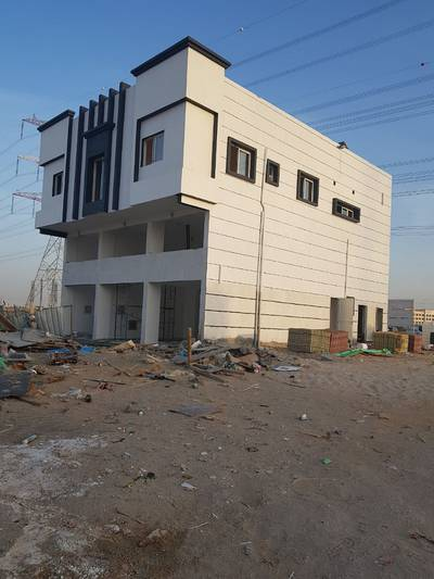 8 Bedroom Building for Sale in Al Yasmeen, Ajman - BRAND NEW BUILDING AFTER 2 MONTH  WILL BE READY WITH ELECTRICITY MAIN ROAD
