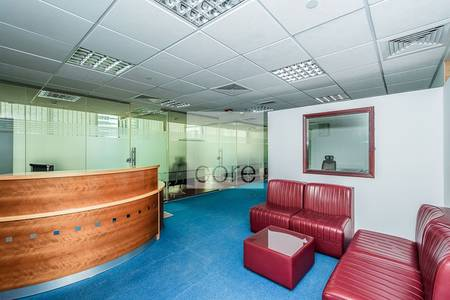 Office for Rent in Jumeirah Lake Towers (JLT), Dubai - Fully Fitted and Furnished   Tiffany Tower
