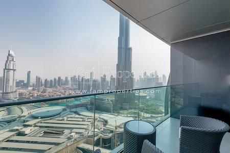 3 Bedroom Flat for Rent in Downtown Dubai, Dubai - Best Priced 3 BR Type 01 in Address BLVD