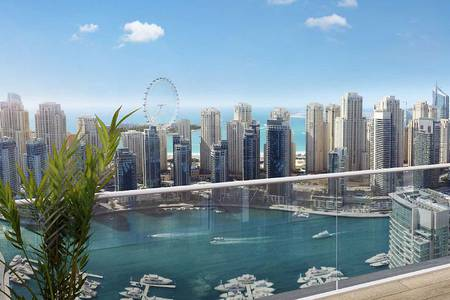3 Bedroom Flat for Sale in Dubai Marina, Dubai - 3BR in Vida Marina with Full Marina View