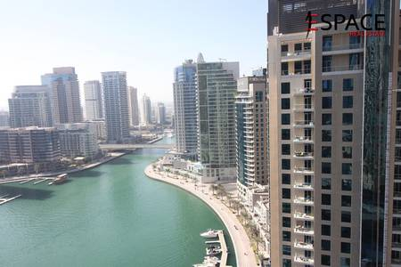 1 Bedroom Flat for Rent in Dubai Marina, Dubai - Spacious   Partial Marina View   Vacant in December