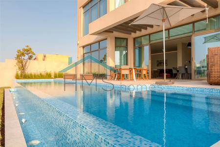 5 Bedroom Villa for Rent in Palm Jumeirah, Dubai - Custom Built Villa | Furnished | Frond N