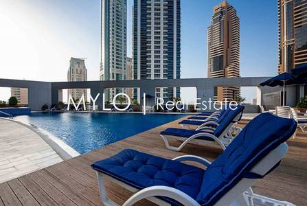 Studio for Rent in Dubai Marina, Dubai - Elegantly Furnished Studio Dubai Marina
