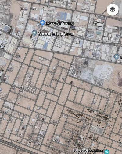Plot for Sale in Al Jurf, Ajman - Commercial Residential Plot For Sale Ground  6 Approval in Jurf 17 Ajman