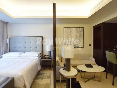Studio for Rent in Downtown Dubai, Dubai - Serviced w/ all bills included