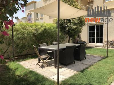 2 Bedroom Townhouse for Rent in The Springs, Dubai - Landscaped Back To Back 2 Bed Study Villa For Rent