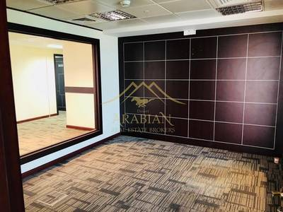 Office for Rent in Jumeirah Lake Towers (JLT), Dubai - large and Bright vacant Fitted Office in Indigo Icon Jlt