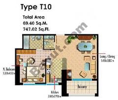 Type T10 1 Bedroom