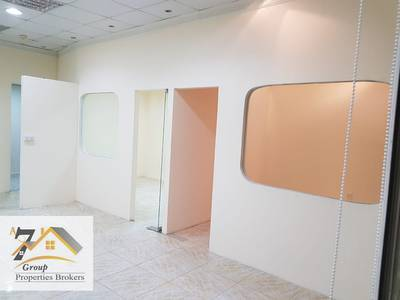 Office for Rent in International City, Dubai - CHINA CLUSTER Fully Ready office with Glass Partitions ONLY ED:40000/4- CHEQUES