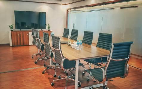 Office for Rent in Dubai Media City, Dubai - PRIVATE CABIN | SEA VIEW | COVERED PARKING