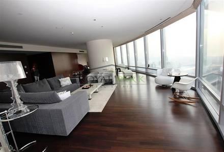 4 Bedroom Apartment for Sale in Downtown Dubai, Dubai - Unforgettable ocean and Dubai city view