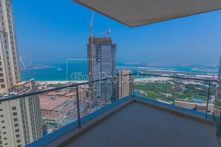 3 Bedroom Apartment for Rent in Dubai Marina, Dubai - Panoramic Sea View | High Floor | Vacant