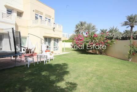 5 Bedroom Villa for Rent in The Meadows, Dubai - Huge Plot-Golf Course View-Type 7 Villa