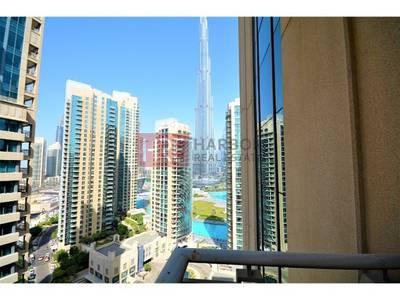1 Bedroom Apartment for Rent in Downtown Dubai, Dubai - Burj Khalifa View - Spacious - Higher Floor - Excellent 1BR
