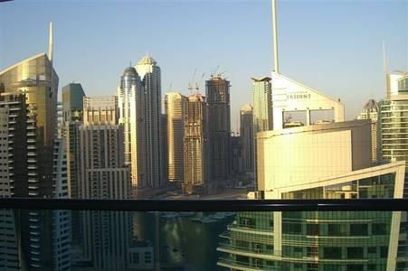 1 Bedroom Apartment for Sale in Dubai Marina, Dubai - Great facility|High floor|Marina view|Nearby metro