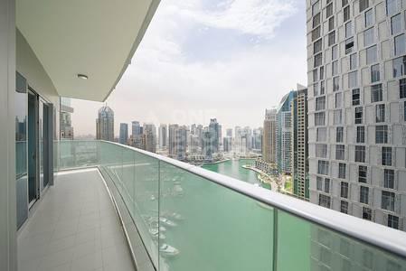 2 Bedroom Flat for Sale in Dubai Marina, Dubai - Full Marina View|2 BR with Balcony|Vacant