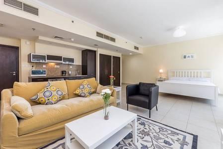 Studio for Rent in Dubai Marina, Dubai - Furnished Studio Apartment w/ Marina view