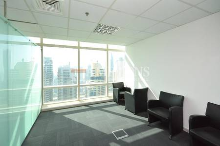 Office for Rent in Jumeirah Lake Towers (JLT), Dubai - Fully Fitted | Partitioned Office | Ready