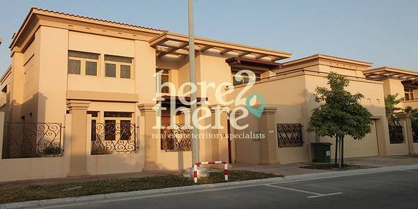 5 Bedroom Villa for Sale in Al Raha Golf Gardens, Abu Dhabi - Amazing Large 5BR Lailak in Golf Gardens