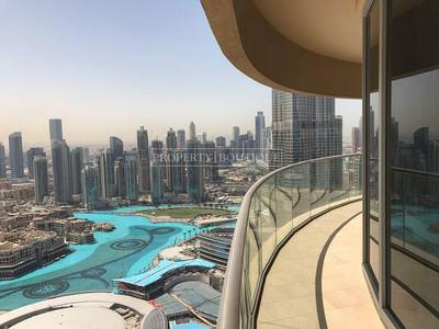 3 Bedroom Apartment for Sale in Downtown Dubai, Dubai - Exceptional Deal   Full Burj and Fountain View