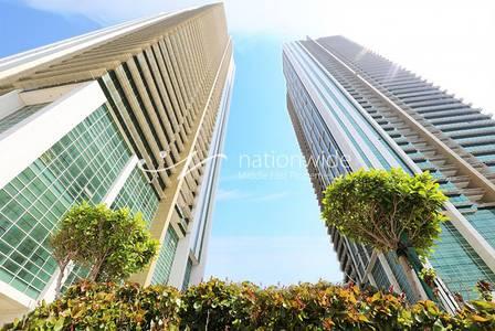 2 Bedroom Flat for Sale in Al Reem Island, Abu Dhabi - Mid Floor 2BR Apartment with Rental Back